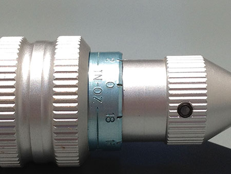 Photo 2. A torque screwderiver with an in-oz scale