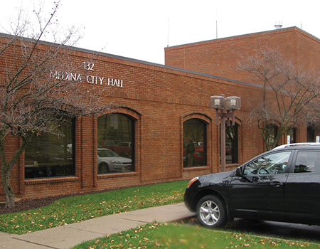 Figure 2. The Medina, Ohio's Public Safety Complex is housed in the city call. Improper electrical grounding and bonding caused expensive equipment failures and took the city's vital emergency communications system offline.