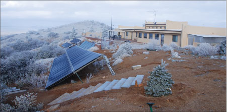 Photo 3A. Residential microgrid system–PV input.