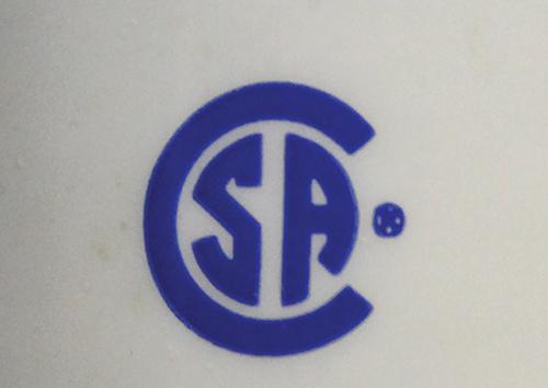 Photo 1. A Canadian Standards Association certification mark