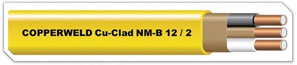 Figure 10. Copperweld Cu-Clad NM-B 12/2