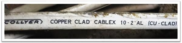 Figure 6. Cu-Clad NM-B 10/2 by Collyer (circa 1975)