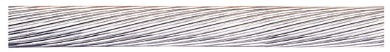 Photo 1. A Bare Aluminum Conductor typically used for bonding of equipment. Courtesy of Nexans Canada Inc.