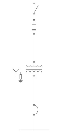 Drawing 2. Impedance grounded system